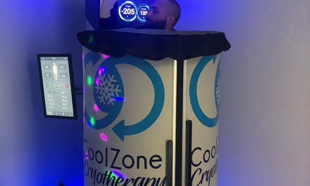 Cryotherapy at Coolzone Cryotherapy & Recovery (Up to 61% Off). Five Options Available.