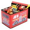 Fire Truck Storage Box and Ottoman