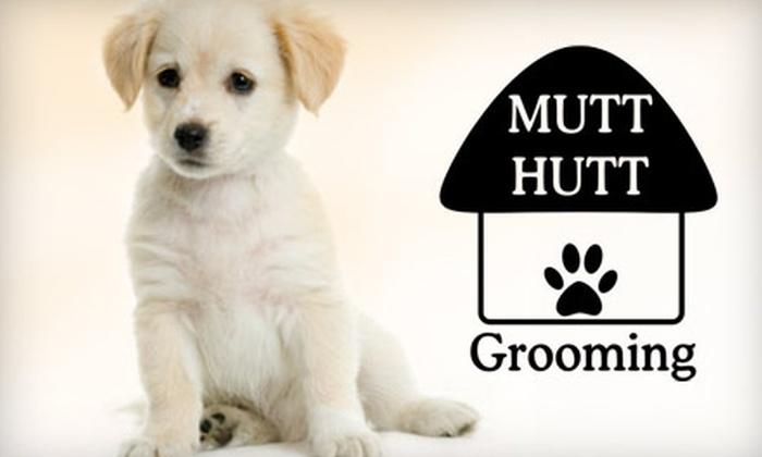 Mutt Hutt Grooming - Sutherland Industrial: $25 for $50 Worth of Dog Grooming at Mutt Hutt Grooming