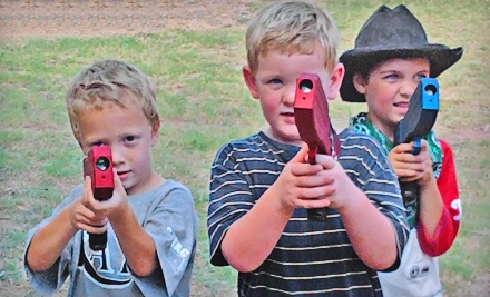 2-Hour Laser-Tag Basic Party Pack for Up to 10 (a $200 value) - San Antonio Laser Tag in