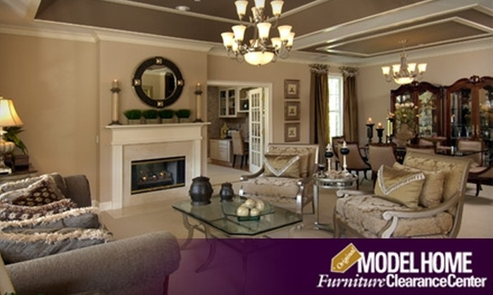 60 off home furnishings model home furniture clearance for Model home furnishings