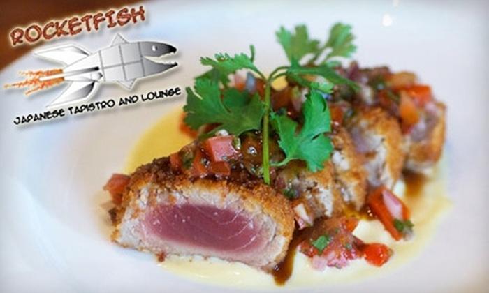 Rocketfish - Potrero: $25 for $50 Worth of Japanese Cuisine and Drinks at Rocketfish