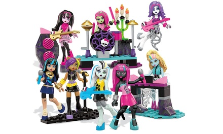 Mega Bloks Monster High Glam Ghoul Band Construction Kit