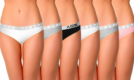 Six-Pack of AQS Cotton Underwear