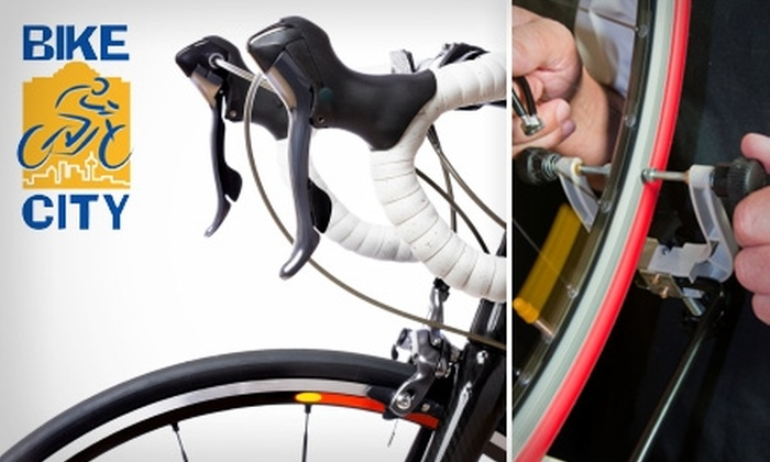 Bike City - Uptown Loop: $14 for a Standard Bike Tune-Up from Bike City ($45 Value)