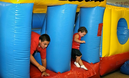 Jumping Monkeys Indoor Inflatables: 5 One-Hour Jump Passes - Jumping Monkeys Indoor Inflatables in Corpus Christi