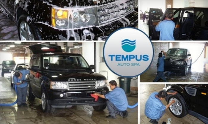 Tempus Auto Spa - Near North Side: $10 for a Complete Interior and Exterior Car Wash at Tempus Auto Spa (Up to a $26.99 Value)