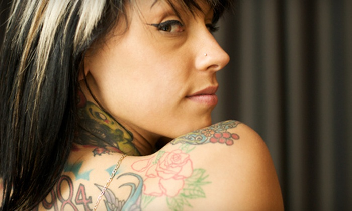 Ricciolo Salon and Day Spa - Bonita: $50 for Laser Tattoo-Removal Treatment on Up to 10 Square Inches at Ricciolo Salon and Day Spa in La Verne (Up to $285 Value)