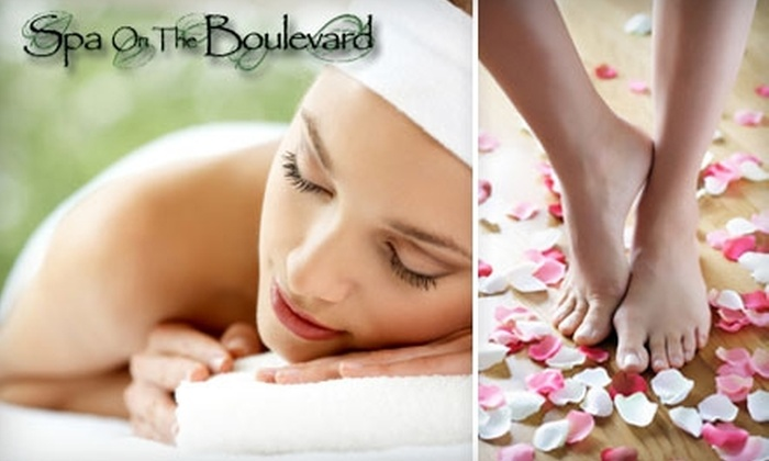 Spa on the Boulevard - North Central: $40 for an Organic Full-Body Sugar Polish and a Spa Pedicure at Spa on the Boulevard in Virginia Beach ($95 Value)