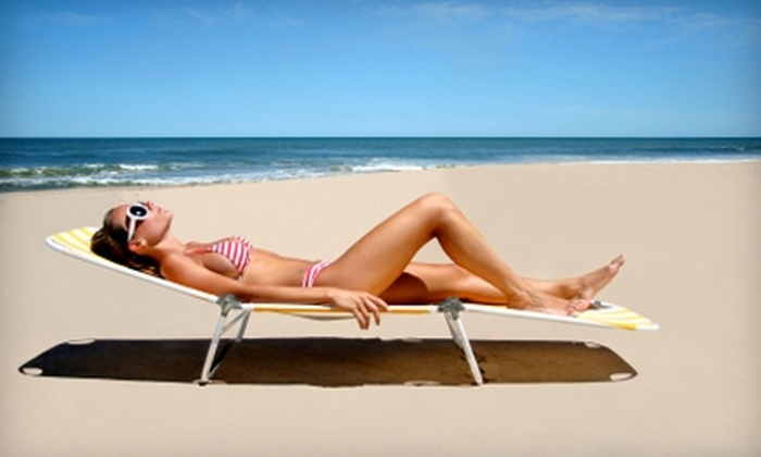 Sun Tanz Tanning - Greenwood: $14 for One Spray Tan ($30 Value) or $15 for Six Tanning Sessions ($30 Value) at Sun Tanz Tanning in Greenwood