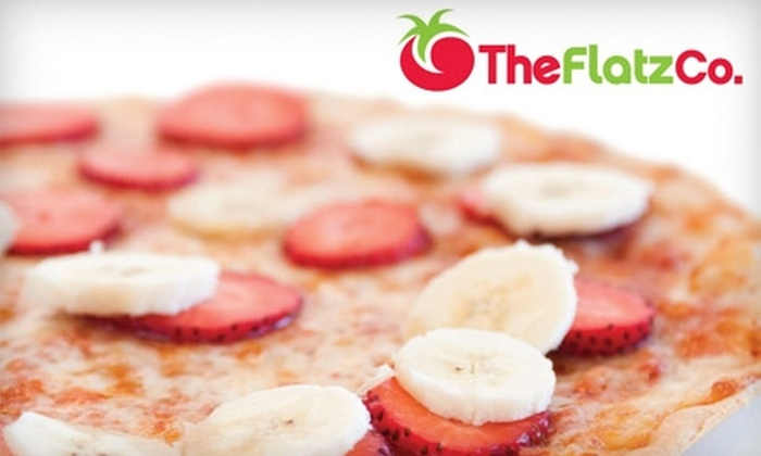 TheFlatzCo. - Wyckoff: $12 for $30 Worth of Healthy Pizzas and Smoothies at TheFlatzCo. in Wyckoff
