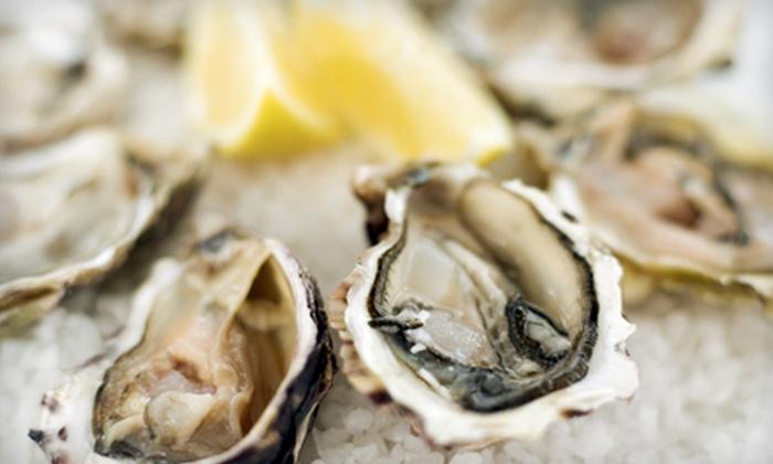 Goldfish Oyster Bar & Restaurant - Ossining: $25 for $50 Worth of Seafood at Goldfish Oyster Bar & Restaurant in Ossining