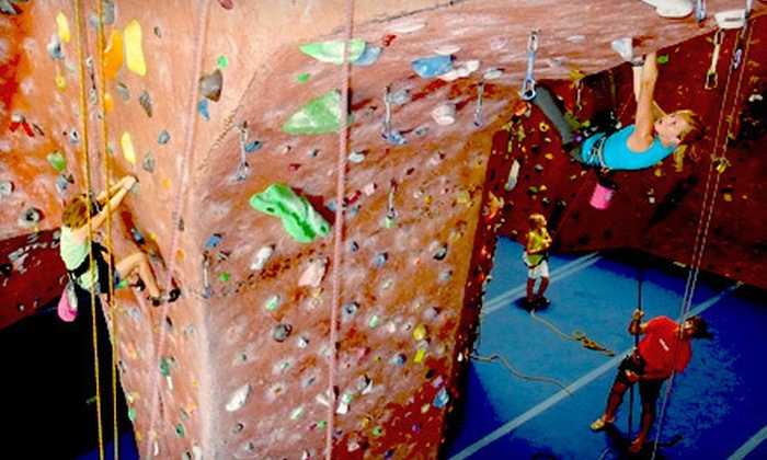 ClimbX Indoor Rock Climbing - Huntington Beach: $45 for a Two-Month Rock-Climbing Package with Class and Equipment at ClimbX Indoor Rock Climbing (Up to $265 Value)