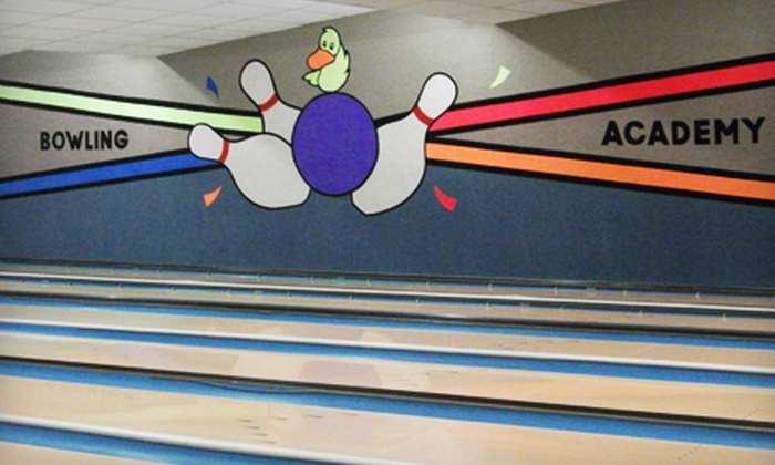 Bowling Academy - Wayland Square: $28 for a Bowling Outing for Up to Six People at Bowling Academy in East Providence (Up to $62 Value)