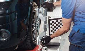 Performance Center (Múltiples sucursales): Alineación y balanceo + revisión para auto o camioneta en Performance Center. Elegí sucursal