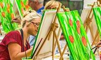 2 Std. Painting Party für eine oder zwei Personen(bis zu 56% sparen*)