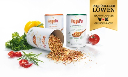 """2x oder 3x 130 g VeggiePur Bio Gemüse-Kräuter-Mix, bekannt aus """"Die Höhle der Löwen"""" (33% sparen*)"""