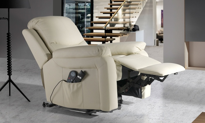ECOGEST TRADE S.L.: ECO-DE 4-Zonen-Massagesessel mit Heizung und optional Liftsystem inkl. Versand (bis zu 63% sparen*)