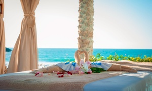 Aroma Spa: Beach and Pool Access with a Mani-Pedi or 30- or 60-Minute Spa Treatment at Aroma Spa (Up to 47% Off)