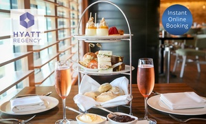 The Sailmaker Hyatt Regency: High Tea + Glass of Chandon Brut Rosé for 2 ($69) or 4 people ($129) at The Sailmaker Hyatt Regency (Up to $396 Value)