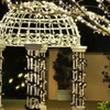 200 Solar-Powered Outdoor LED String Lights (1-, 2-, or 4-Pack)