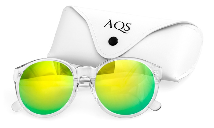 AQS Women's Acetate Daisy Sunglasses