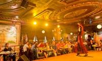 Entrada a espectáculo flamenco con 2 bebidas con opción a menú tapeíto o menú premium para 2 desde 39,95 € en Villa-Rosa