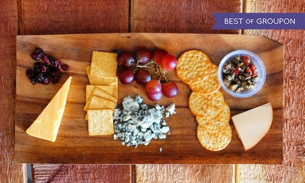 Up to 58% Off Wine Tasting and Cheese for Two