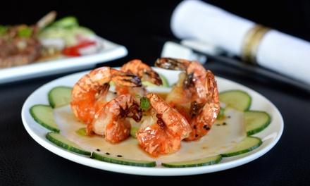 2,5 uur onbeperkt sushi en grill bij Asian Fusion in Rotterdam vanaf 2 pers.