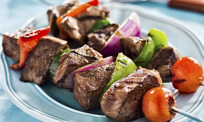 Greek Village-Mediterranean Cuisine - Schaumburg: $15 for $30 Worth of Seafood and Mediterranean Dinner for Two or More at Greek Village-Mediterranean Cuisine
