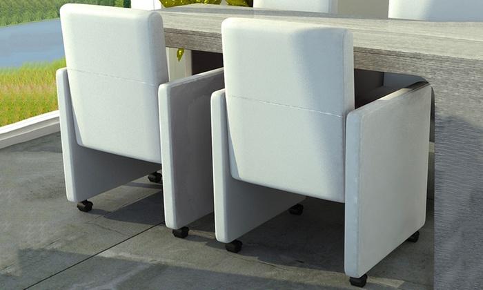 Tot stoelen met wieltjes groupon goods