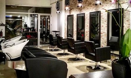 Sesión de peluquería con lavado, masaje, corte y peinado con rituales I.C.O.N. a elegir desde 14,95 €