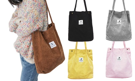 One or Two Corduroy Shoulder Bags