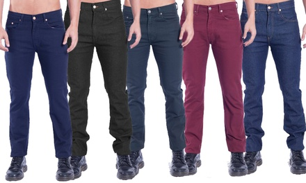 Kentucky Denim Premium Men's Slim-Fit Jeans