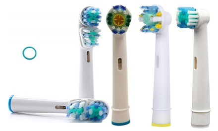 16x OralB compatibele opzetborstels
