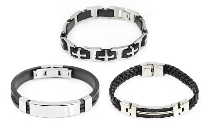 Groupon Goods Global GmbH: Aires, Neptune or/and Apollo Men's Bracelet