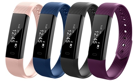 One or Two Aquarius AQFW02 Touch Screen Fitness Trackers with Optional Replacement Strap