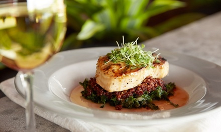 Dîner raffiné pour 2 convives avec entrée, plat & dessert au choix à la carte à 34,90 € au restaurant Les Pampres Rouges