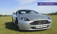 Three- or Six-Lap Aston Martin Experience from Experience Limits
