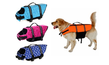 From $16.95 for a Dog Life Jacket in Choice of Colour and Size