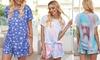 Printed Top & Short Pyjama Set