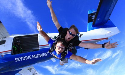 image for $179 for Tandem Skydive Jump at Skydive Midwest ($239 Value)