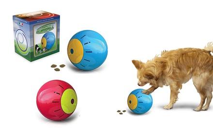 Bola dispensadora de snakcs para mascotas por 6,98 € (53% de descuento)