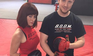 Boom Fitness Center, LLC: One-Month Membership with a Personal-Training Session at BOOM Fitness Center (67% Off)