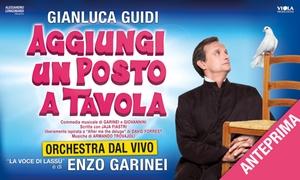 Aggiungi un posto a tavolo, Teatro Brancaccio, Roma: Aggiungi un posto a tavola: il musical in anteprima il 12 ottobre al Teatro Brancaccio di Roma