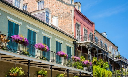 New Orleans Historic French Quarter Tour for One, Two, or Four from New Orleans Historic Tours (Up to 51% Off)