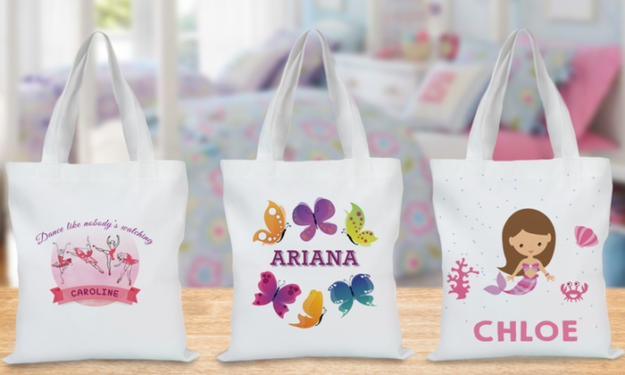 Up To 69 Off Personalized Tote Bags For Kids