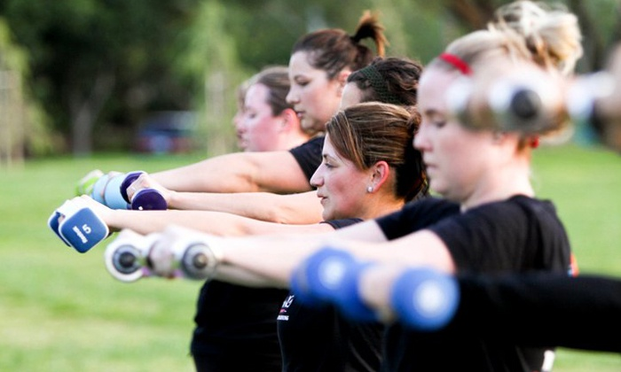Total Training Boot Camp - Multiple Locations: Four or Six Weeks of Boot-Camp Classes at Total Training Boot Camp (Up to 85% Off)