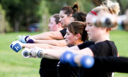 Four or Six Weeks of Boot-Camp Classes at Total Training Boot Camp (Up to 85% Off)