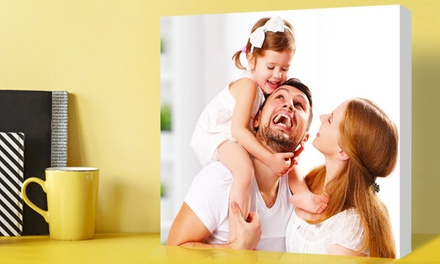 "8x10"", 11x14"",20x16"", or 36x24"" Custom Canvas Prints from Simple Canvas Prints (Up to 95% Off)"